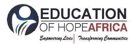 EOHA – Education of Hope Africa