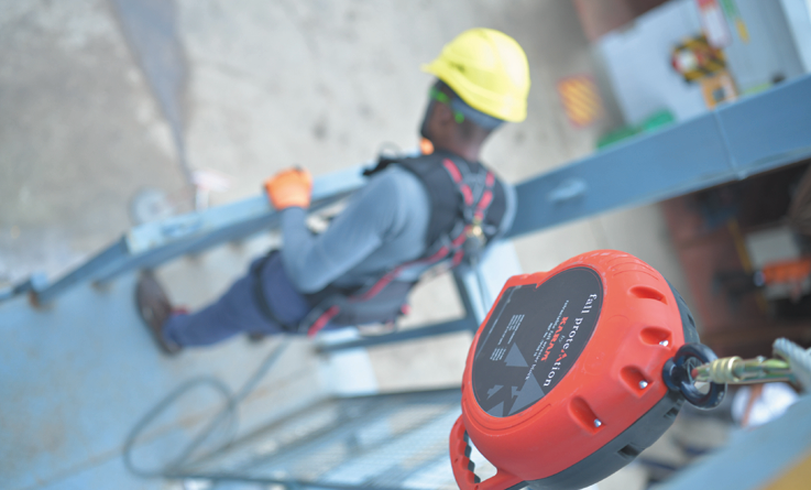 KARAM Retractable Fall Arrester Blocks –  The perfect solution for tricky situations